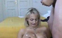 Amateur Blonde Chick With Great Tits