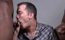 Seth Ryan Gets His Ass Trained By Black Men