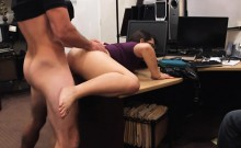 Amateur chicks try to steal and boned and nailed by pawn guy