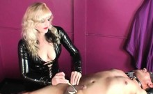 Femdom CBT and Clothespins
