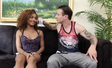 Cute black teen Nami Dahlia Fuck by older guy