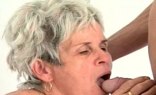 Granny Gets Ready For A Stud