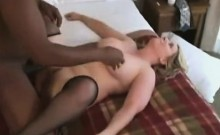 Blonde having a body gets fucked that is dark