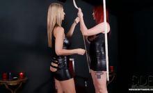Carol receives a hot spanking