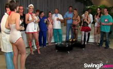 Swingers party is about to get nasty for some hot wives