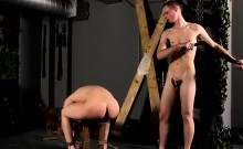Nude men in bondage gay A Red Rosy Arse To Fuck