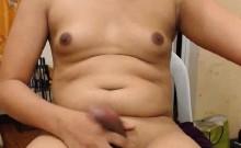 Asian Masturbating While Rubbing Her Asshole