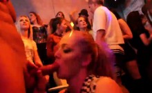 Sexy teens get totally crazy and nude at hardcore party