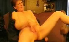 Sizzling granny rubbing against her vagina. Amateur women