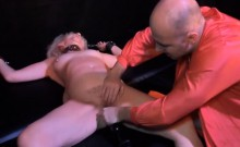 Freaky granny loves kinky fun in the dungeon