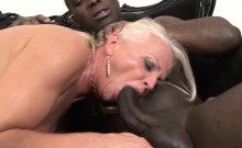 Mature drilled by black guys hardcore interracial Anal