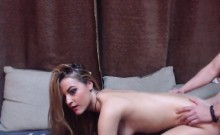 Hot Blonde Girl Fucks a Large Dicked Stud