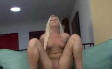 Sexy Holly loves riding big cocks