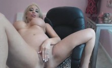 Busty Blonde Barbie Will Make Your Cock Rock Hard