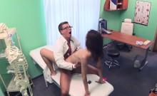 Nurse In Uniform Sucks Doctors Cock