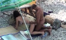 Voyeur On The Beach 7 Couple Fuck On The Beach
