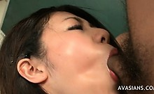 Asian College Girl Fucks Her Colegues In Class