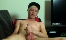 British emo twink Phoenix Link loves to wank it hard