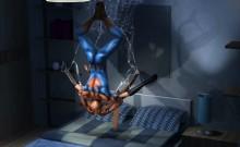 Spider Man Fucks Busty Blonde Babe