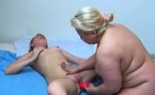 Bbw Granny Gets Toyed By Redhead Teen