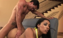 Donna Red Gets Drilled In Hardcore Fashion