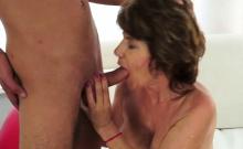 Sexy Nips Granny Jizzed