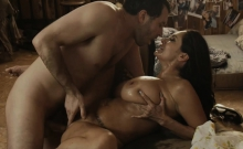 Huge boobs MILF Ava Addams hard pounded by huge dick