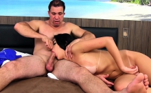 Beautiful Shemale Persuaded To Suck Cock And Fuck