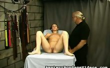 Nicoles Pussy Spanking Session