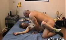 Busty amateur girlfriend masturbate