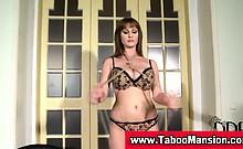 Bondage fetish victim tied up