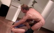 MILF Wife Gives a Blowjob