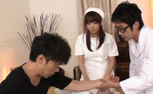 hot and hard fucking a sexy young nurse