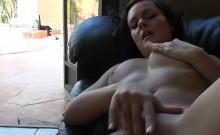 Horny Biker Girl Sucks Cock And Fingers Her pussy