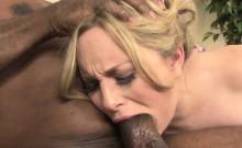 Aiden Starr loving a black hard cock