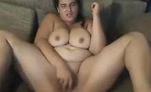 Fat Woman Masturbating Live
