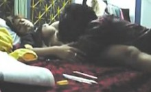 Adorable Indian chick getting banged by her boyfriend missi