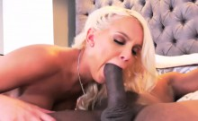 Busty blonde Kenzie Taylor first black cock ever