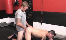 A training in a bareback butt fucking with Jeremy and Shawn