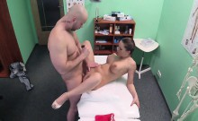 Big boobied nurse fucks patient