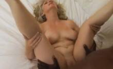 Meet Stacey, a blonde milf with a soft spot for black