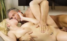Lovely big tits Bailey gets fucked hard