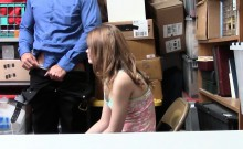 Teen and her dad busted for shoplifting but find a way out