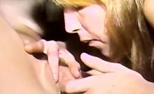 Amateur Lesbian Lesson On Licking