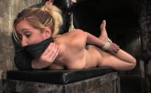 Isis Love gets tied up and fucked
