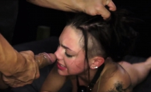 Wife gangbang bondage amateur Poor Rachael Madori.