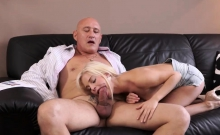 Girl licking old granny and dp young men first time Horny bl