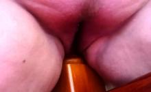 Extraordinary hairy fat bbw masturbating on cam