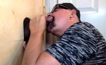 Gloryhole Double Dark Cock Suck Off