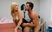 Blonde Doctor Cock Checkup